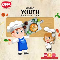 There is immense charisma in youth: it is your mind, your talent, the creativity you bring to your life and the lives of people around. When you learn to tap this source, you will truly defeat all odds! . . . #omsweets #youthskillday #youth #skills Om Sweets, Youth, Creativity, Learning, World, People, Life, Fictional Characters, Studying