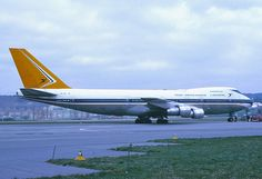 South African Airways Boeing 747-200; ZS-SAL, April 1975
