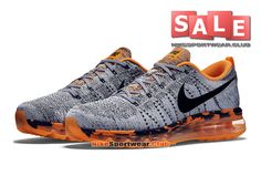 reputable site 96cc6 e4477 Are you ready to own one pair Nike Online Shop Sneakers,Buy Nike Air Max  Flyknit Grey Orange Discount Sale