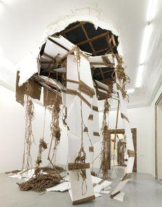 Thomas Hirschhorn, Break Through on ArtStack #thomas-hirschhorn #art