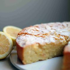 Sitruunainen ricotta-mantelikakku by Lunni leipoo Baking Recipes, Cake Recipes, Norwegian Food, Dessert Bread, Gluten Free Baking, Sweet And Salty, Desert Recipes, Let Them Eat Cake, Yummy Cakes