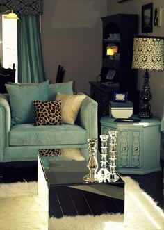 McArthur Homes Blog - Utah Homes || minus the animal print pillow.