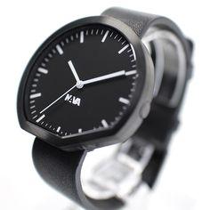 ヤマギワオンラインストア | 腕時計 | NAVA design(ナヴァ・デザイン)「Ora」ブラック[485NVA020015]