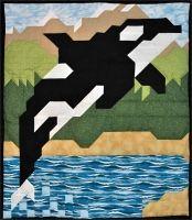 Orca Quilt Pattern CQ-053
