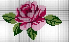 Nice embroidery stitch towel with pattern schema. Cross Stitching, Cross Stitch Embroidery, Embroidery Patterns, Hand Embroidery, Cross Stitch Charts, Cross Stitch Designs, Cross Stitch Patterns, Bandeau Crochet, Pixel Crochet