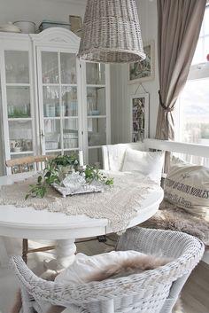 Shabby Chic Interior...white, white, white