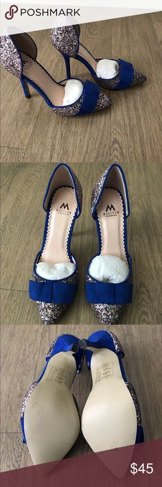 Shoe dazzle blue sequin shoes Brand new never been worn shoedazzle sequin shoes from the Madison Avenue collection. Shoe Dazzle Shoes