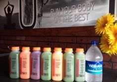 Get Fit Fuel's 3-Day Juice Cleanse with Watt-Ahh@! #water #health