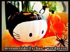Hello Kitty mini pumpkin!