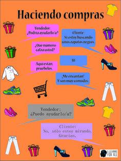 Vocabulário para fazer compras em espanhol