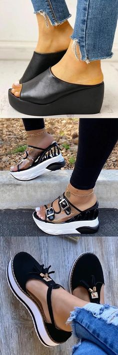 Platform pumps – High Fashion For Women Fashion Sandals, Sneakers Fashion, Suede Shoes, Shoe Boots, Trendy Sandals, Pretty Shoes, Hot Shoes, Me Too Shoes, Casual Shoes