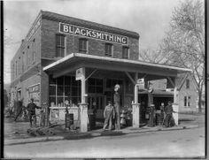 Blacksmithing and Gas