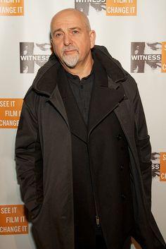 Peter Gabriel at WITNESS' Focus for Change Benefit Dinner & Concert 2010 | Flickr - Photo Sharing!