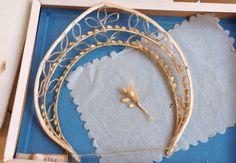 Couronne En Cire De Voile De Mariée Ancienne 1900 Antique Victorian Bridal Crown