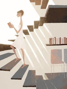 Japanese illustrator, Tadahiro Uesugi