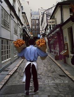 Rue ♦ A baker delivering bread to a restaurant in Paris France Beautiful Paris, I Love Paris, Life Is Beautiful, Paris Travel, France Travel, Image Paris, Paris Restaurants, Paris France, Photography
