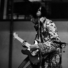 "Jimi Hendrix began recording his version of BobDylan's ""All Along The Watchtower"" 50 years ago today, 21st Jan 1968, at Olympic Studios, London."