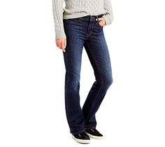 Levis Womens Slimming Bootcut Jean Underwater Canyon 89 Cotton 9 Polyester 2 Elastane 28W X 30L *** See this great product.
