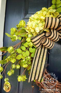 How to make a Summer Wreath Diy