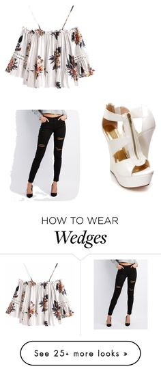 """Spring time outfit ❤️"" by bellafashion0 on Polyvore featuring Refuge, Spring and cute"