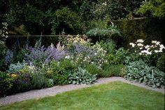 De tuin aanplanten is vaak het hoogtepunt van een nieuwe tuin, maar hoe kies je nu de juiste planten? En waar moet je verder allemaal op letten bij het maken van een beplantingsplan? Garden Borders, Kew Gardens, Perennials, Sidewalk, Gardening, Plants, Pictures, Side Walkway, Lawn And Garden