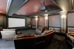 We could get really comfortable in this $4.9 million in McLean mansion, which yes, has it's own movie theater | Luxury Homes | Washingtonian