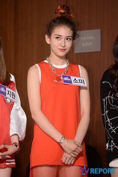 [PRESS] 2015.04.29 — Somi <SIXTEEN> Press Conference © tvreport.co.kr