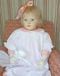 An Ella Hass art doll posted by new owner on a forum.