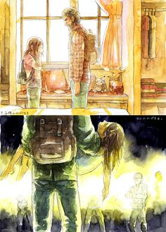 Joel and Ellie - The Last of Us. I am seriously about to cry right now...