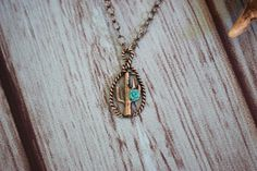 Cactus Rose Necklace