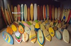Images of surfings history – Museum of Surf
