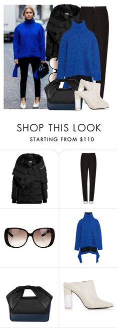 """""""Street Style LFW S/S 2017"""" by justadream133 ❤ liked on Polyvore featuring Balenciaga, Gucci, Pour La Victoire, StreetStyle, LFW and ss2017"""