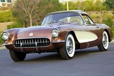 CORVETTE 1957 JUST LIKES DADS BEFORE IT GOT TORCHED