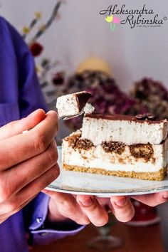 Przepisy Aleksandry: SERNIK TIRAMISU NA ZIMNO (zdj. krok po kroku) Polish Desserts, Polish Recipes, No Bake Desserts, Polish Food, Sweet Bakery, Tiramisu Cake, No Bake Cake, Sweet Recipes, Sweet Tooth