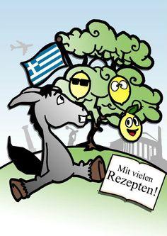 """Zitronen aus Hellas - das Koch- und Erlebnisbuch aus Griechenland gibt es jetzt auch als Kindle e-Version bei www.amazon.de - Einfach """"Zitronen aus Hellas Kindle"""" eingeben. Lesen, lachen und nachkochen.  www.groessenwahn-verlag.de"""