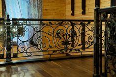 Private mansion decorations (Krasnaya Polyana, 2007). Manual forging, welding.