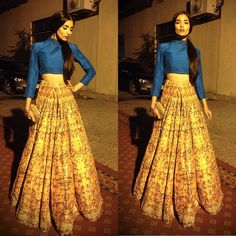 Can Zara Peerzada stop taking my breath away? I think not! Wearing an Ali Xeeshan lehnga.