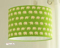 Lampshade elephants