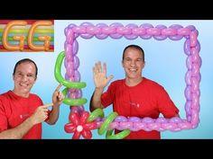 marco para fotos gigante para fiestas - marco de globos para fotos - globoflexia - YouTube