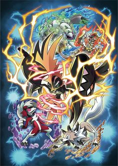 Pokémon sun and moon - shiny tapu koko event artwork Pokemon Poster, Pokemon Fan Art, Pokemon Alola, Pokemon Dragon, Pokemon Stuff, Pikachu, Digimon, Dragons, Fanart