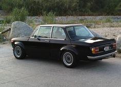 1974 BMW 2002 tii Black Turbo widebody