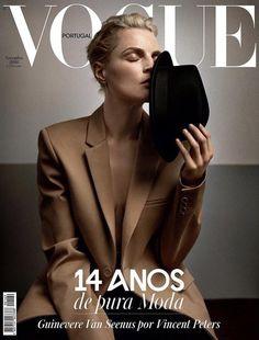 Guinevere van Seenus in Vogue Portugal November 2016 by Vincent Peters