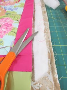 quilt as you go-  step by step w/pictures.