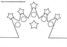 Image du Blog nounoudunord.centerblog.net Easy Crafts, Crafts For Kids, King Design, Diy Crown, Free Printable Calendar, Queen Crown, Spring Party, Snow Queen, Craft Party