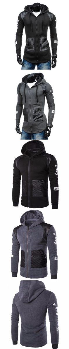 f061d21256b New Men s Casual hooded sweatshirts Sportswear Men s long sleeve hoodie  clothing in Mens Hoodies and Sweatshirts