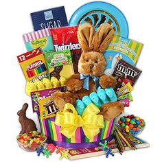 Gourmetgiftbaskets easter sweets and treats basket baskets easter ultimate easter gift basket negle Images