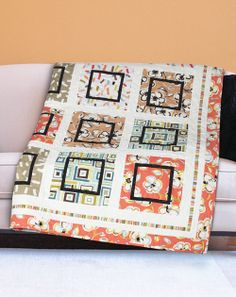 All Squared Up by Wendy Sheppard (from The Quilter Magazine April/May 2014 issue)