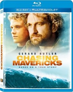 Chasing Mavericks is an inspirational surfing biopic about Jay Moriarity - played by Jonny Weston. Mentor Frosty Hesson is played by Gerard Butler.