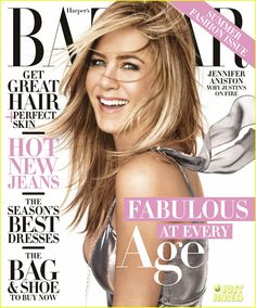 Jennifer Aniston Dishes on Married Life: It's 'Not Much Different'   jennifer aniston harpers bazaar april 2016 01 - Photo