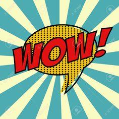 Illustration of pop art text bubble vector art, clipart and stock vectors. Andy Warhol, Retro Kunst, Retro Art, Vintage Pop Art, Comic Kunst, Comic Art, Comic Book, Pop Art Decor, Text Bubble